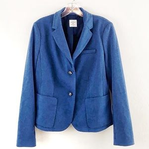 The Gap Academy Blazer Blue Fall Jacket Size 12